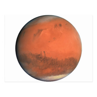 PLANET MARS true color natural (solar system) ~ Postcard