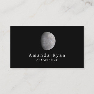 Planet Mercury, Astronomy Business Card