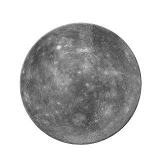 PLANET MERCURY (solar system) ~ Porcelain Plate