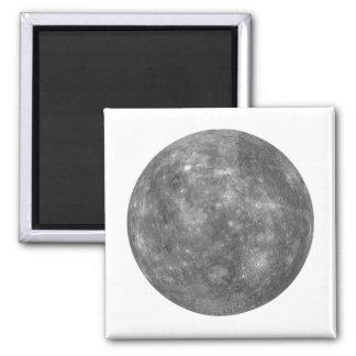 PLANET MERCURY (solar system) ~~ Square Magnet