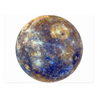 PLANET MERCURY v2 (solar system) ~ Postcard