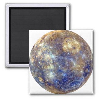PLANET MERCURY v2 (solar system) ~ Square Magnet