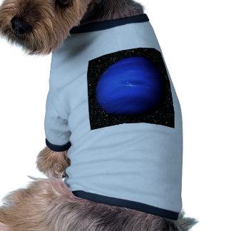 PLANET NEPTUNE Star Background 2 (solar system) ~. Ringer Dog Shirt