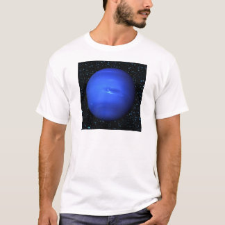 PLANET NEPTUNE with Star Background (solar system) T-Shirt