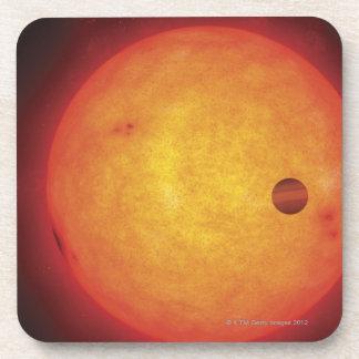 Planet Orbiting Star Coaster