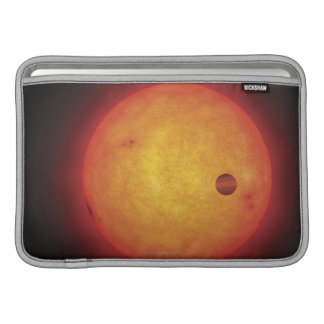 Planet Orbiting Star MacBook Sleeve