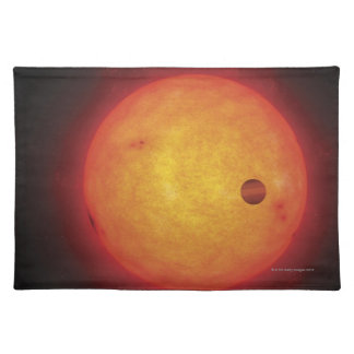 Planet Orbiting Star Placemat