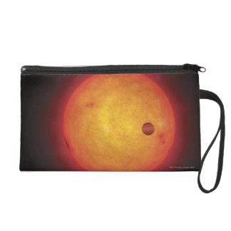 Planet Orbiting Star Wristlet