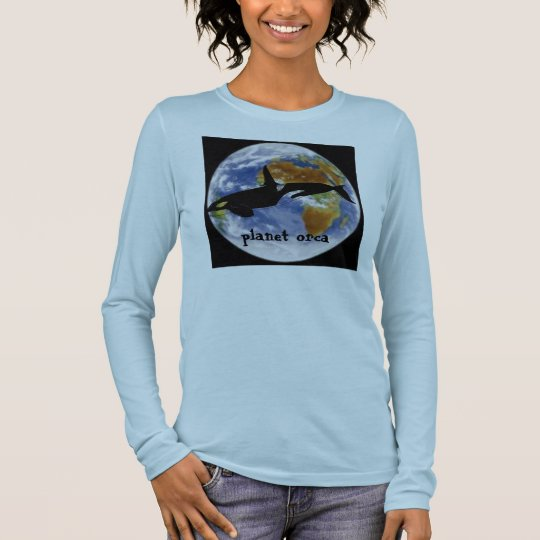 Planet Orca Ladies Long Sleeve T-Shirt