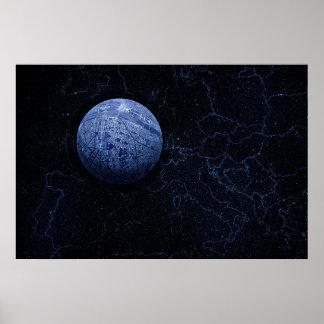 Planet - Paris Poster