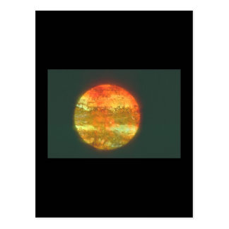 Planet. (planet;space;close-up;dark_Space Scenes Postcard