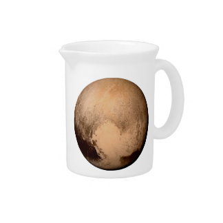 PLANET PLUTO - HAVE A HEART! (solar system) ~.png Drink Pitchers