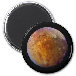 PLANET PLUTO.jpg 6 Cm Round Magnet