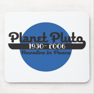 Planet Pluto Mouse Pad