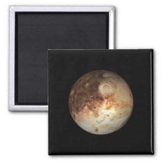 PLANET PLUTO natural ( solar system) ~ Square Magnet