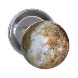 PLANET PLUTO (solar system) ~ 6 Cm Round Badge