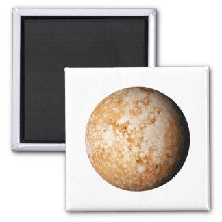 PLANET  PLUTO (solar system) ~~ Square Magnet