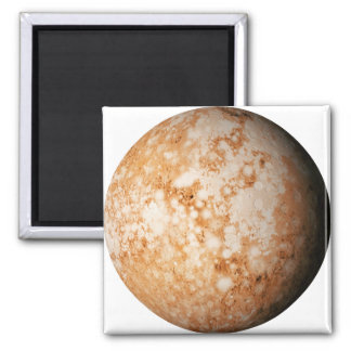 PLANET  PLUTO (solar system) ~ Square Magnet