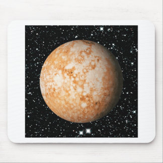 PLANET  PLUTO star background (solar system) ~ Mouse Pad