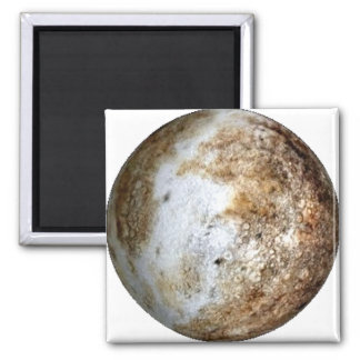 PLANET PLUTO v2 (solar system) ~ Square Magnet
