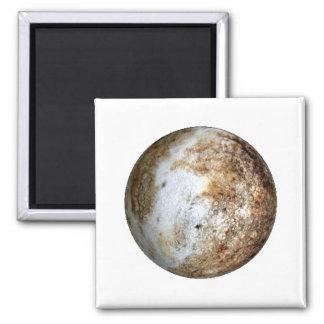 PLANET PLUTO v2 (solar system) ~~ Square Magnet