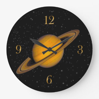 Planet Saturn Astronomy-lovers Wall Clock