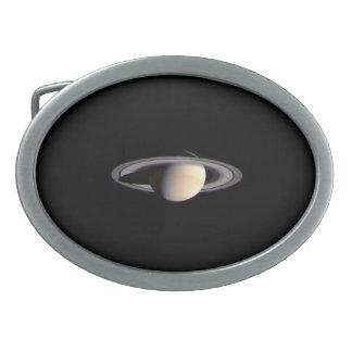 Planet Saturn Belt Buckle