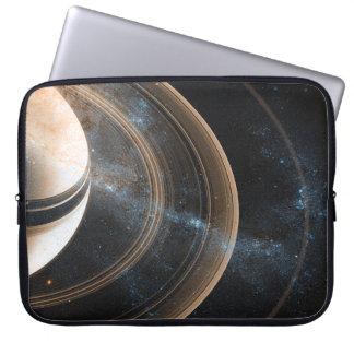 Planet Saturn Laptop Sleeve