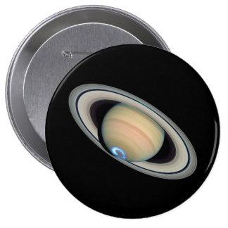 PLANET SATURN (solar system) ~ 10 Cm Round Badge