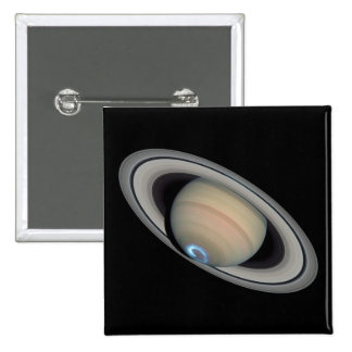 PLANET SATURN (solar system) ~ 15 Cm Square Badge