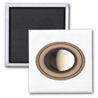 PLANET SATURN (solar system) ~ Square Magnet