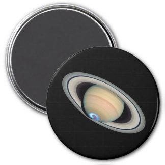 PLANET SATURN (solar system) ~ 7.5 Cm Round Magnet