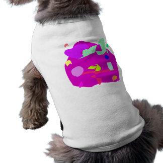 Planet Sleeveless Dog Shirt