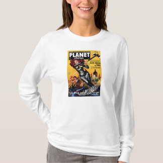 Planet Stories - Black Amazon of Mars T-Shirt