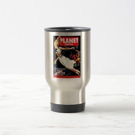 Planet Stories - Rebel of Valkyr Mug