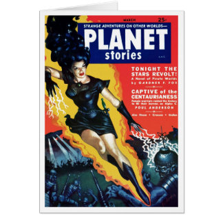 Planet Stories - The Stars Revolt Card