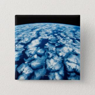 Planet Surface 15 Cm Square Badge