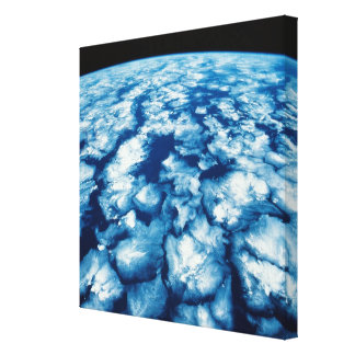 Planet Surface Canvas Print