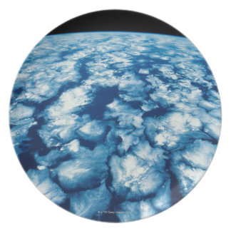 Planet Surface Dinner Plates