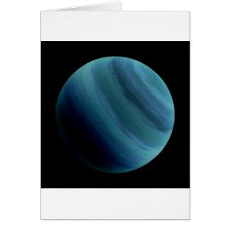 PLANET URANUS natural (solar system) ~~ Greeting Card