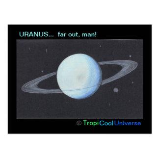 Planet URANUS postcard