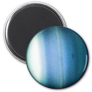 PLANET URANUS (solar system) ~ 6 Cm Round Magnet