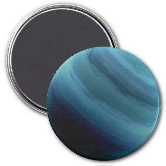 PLANET URANUS (solar system) ~ 7.5 Cm Round Magnet