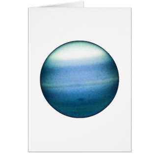 PLANET URANUS (solar system) ~~ Greeting Card
