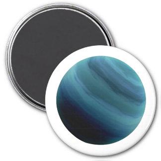 PLANET URANUS (solar system) ~~ 7.5 Cm Round Magnet