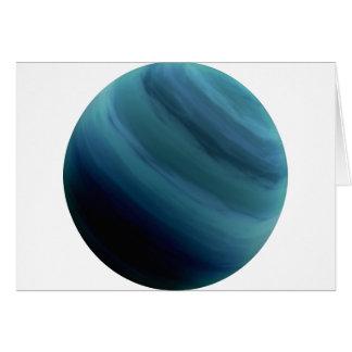 PLANET URANUS (solar system) ~.png Greeting Card