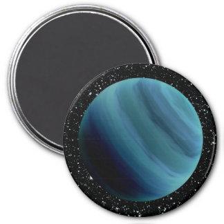 PLANET URANUS star background (solar system) ~~ 7.5 Cm Round Magnet
