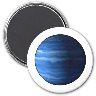 PLANET URANUS v2 (solar system) ~~ 7.5 Cm Round Magnet