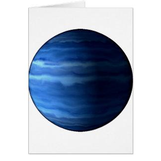 PLANET URANUS v2 (solar system) ~ Greeting Card