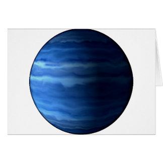 PLANET URANUS v2 (solar system) ~.png Greeting Card